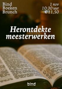BIND Boekenbrunch: Herontdekte meesterwerken